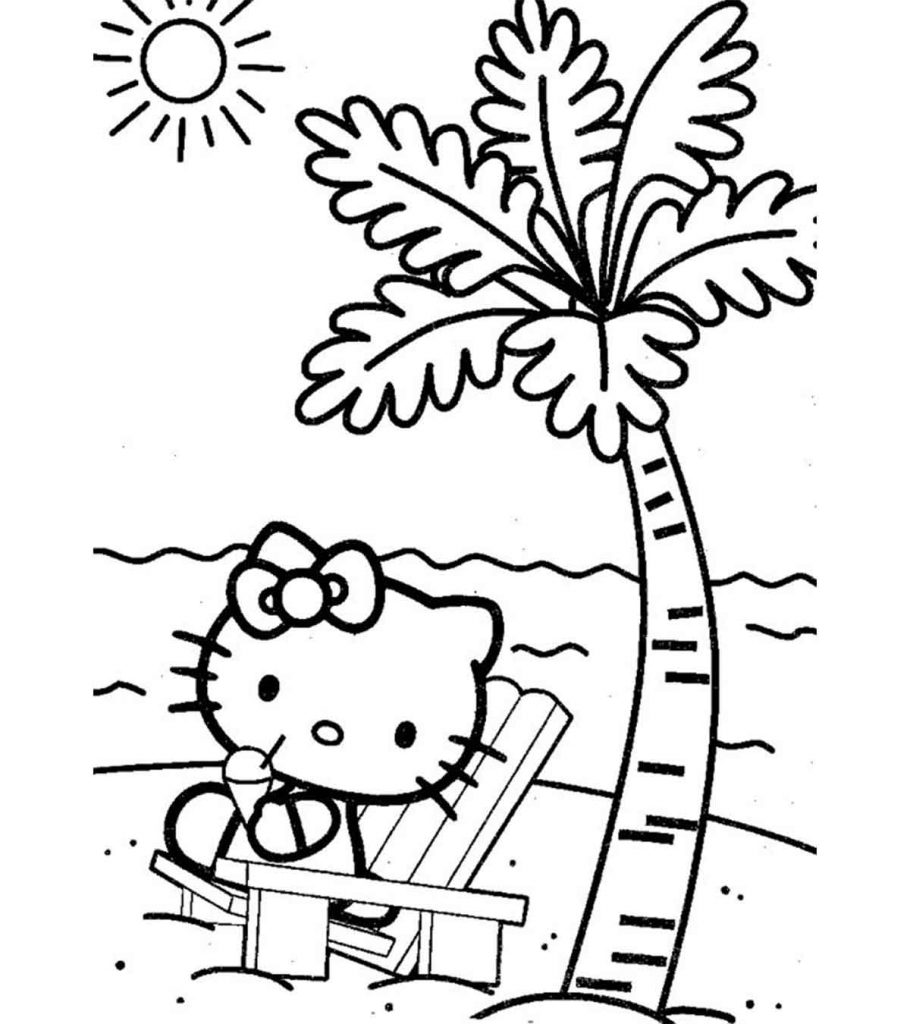 coloring beach pages tropical beach by artsashina coloring pages printable beach pages coloring