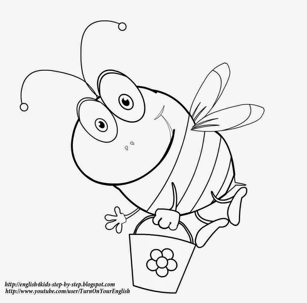 coloring bee bee coloring pages coloring pages to download and print coloring bee 1 1