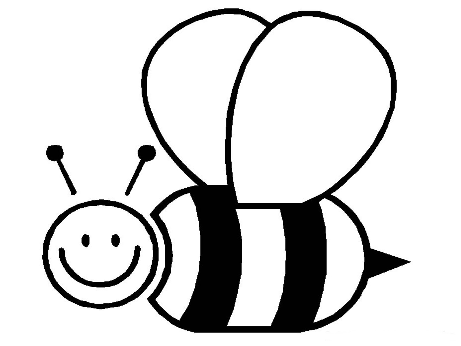 coloring bee bumble bees coloring page printables for kids free bee coloring