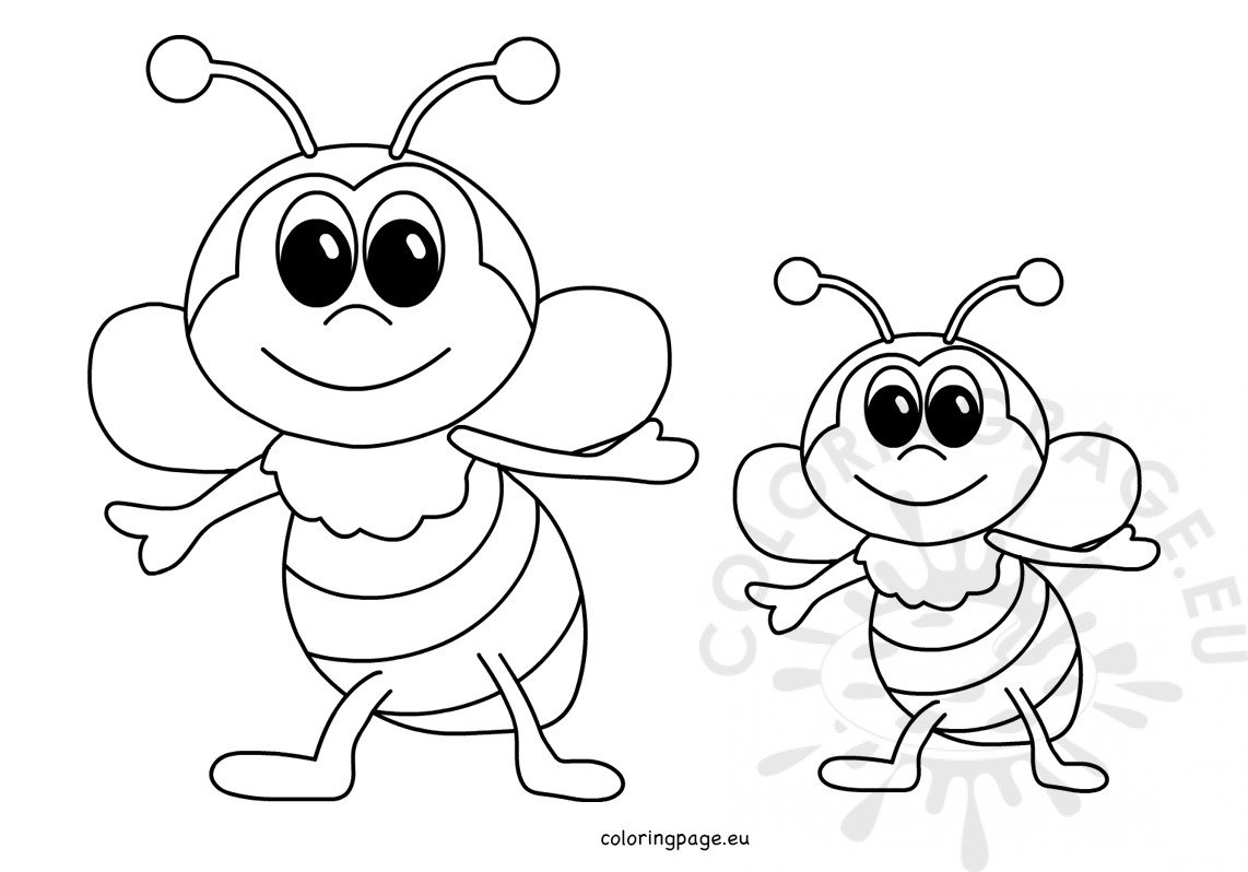 coloring bee free coloring pages for boys cute bee voteforverdecom coloring bee