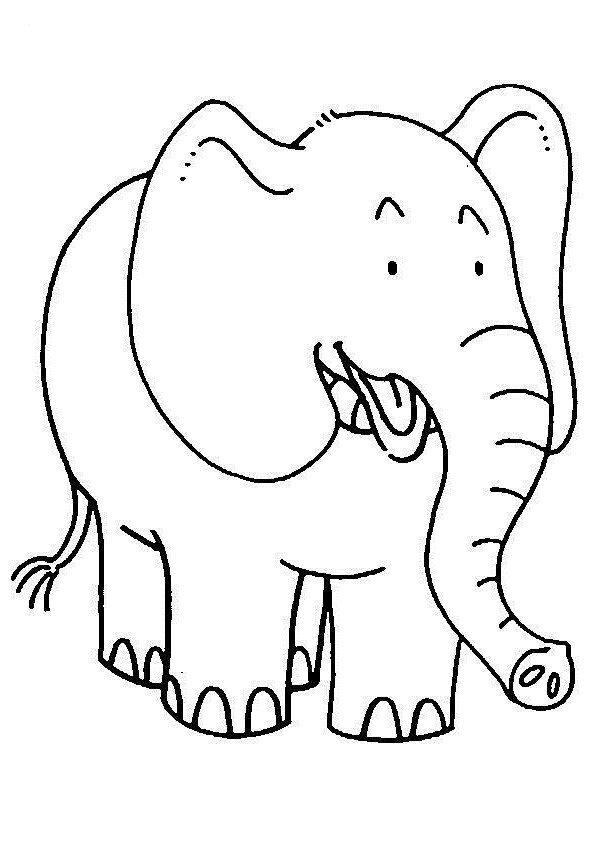 coloring book elephant images free printable elephant coloring pages for kids coloring elephant book images