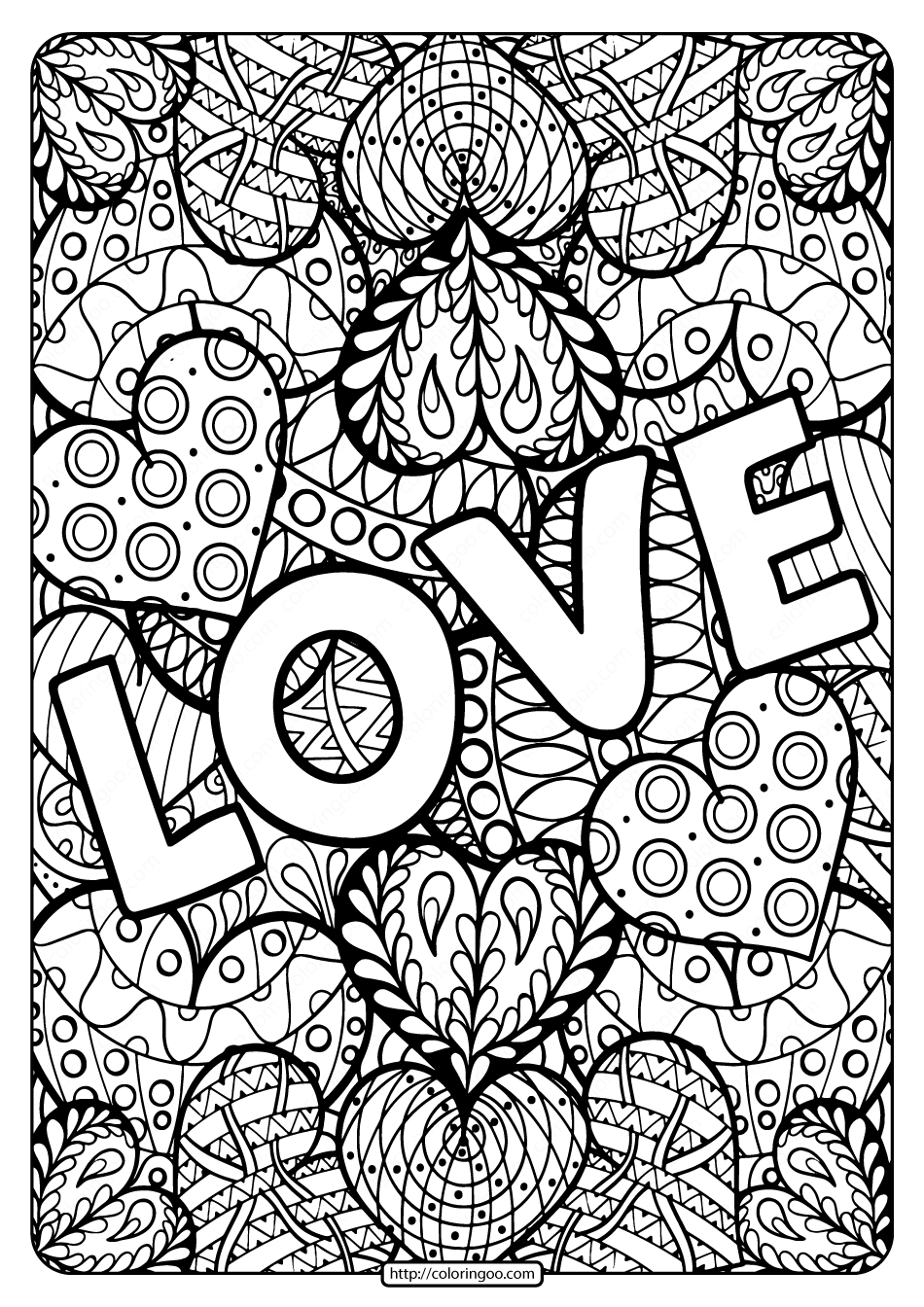 coloring book printable zen coloring pages for kids at getcoloringscom free printable coloring book