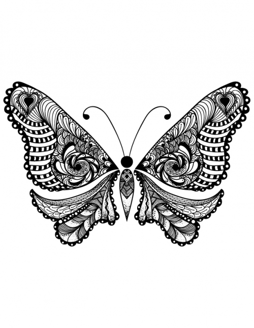 coloring butterfly butterflies to download for free butterflies kids coloring butterfly