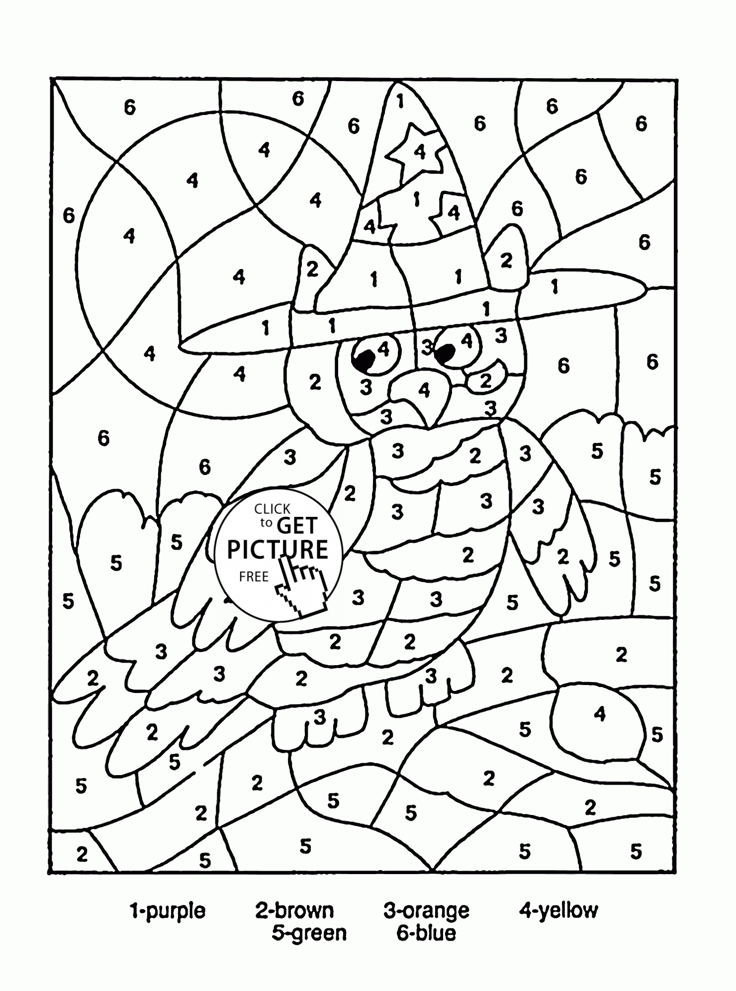 coloring by number for kids color by numbers elephant coloring page for kids printable coloring for number by kids