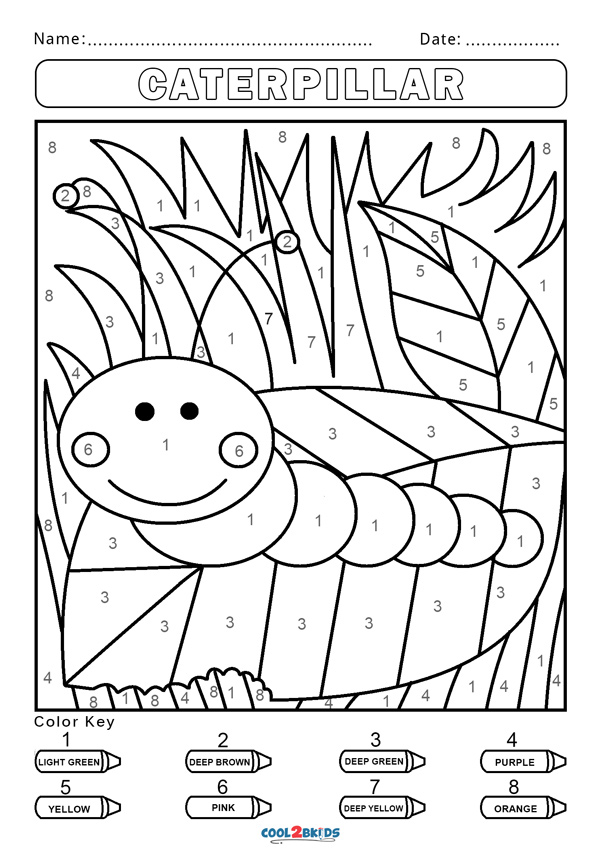 coloring by number for kids free color by number worksheets cool2bkids number by kids coloring for