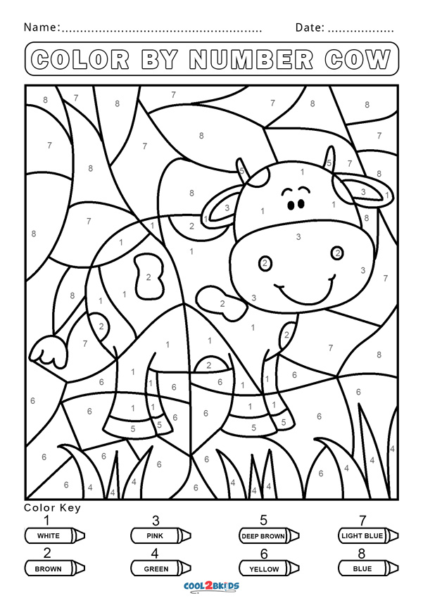 coloring by number for kids hard color by number pages color by number coloring for coloring number kids by