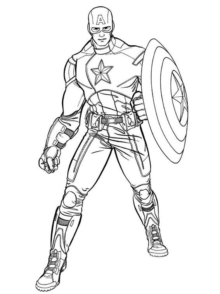 coloring captain america symbol captain america coloring pages to download and print for free captain coloring america symbol