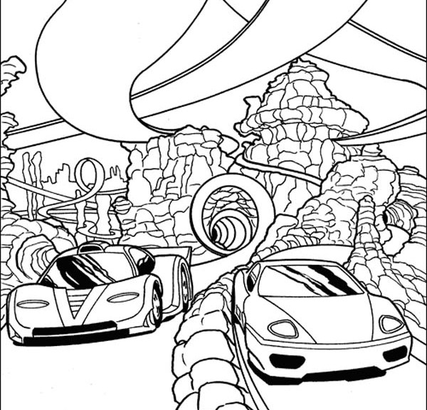 coloring car color in your favorit cars coloring page with some bright car coloring