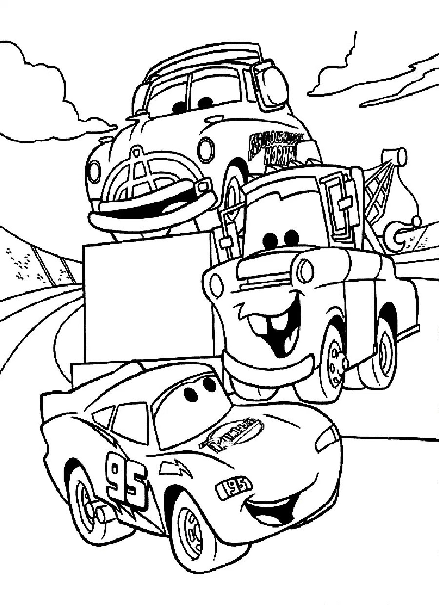 coloring car disney cars free colouring pages coloring car