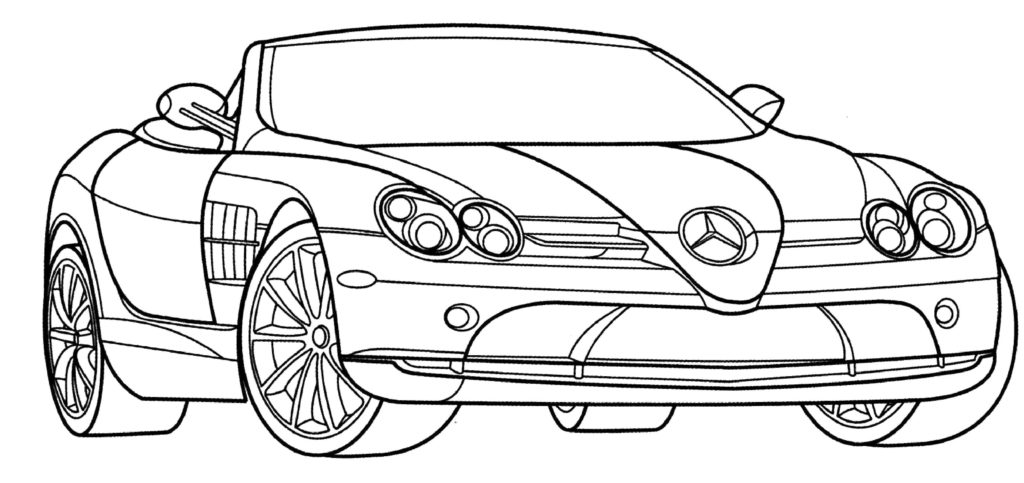 coloring car muscle car coloring pages to download and print for free coloring car 1 1