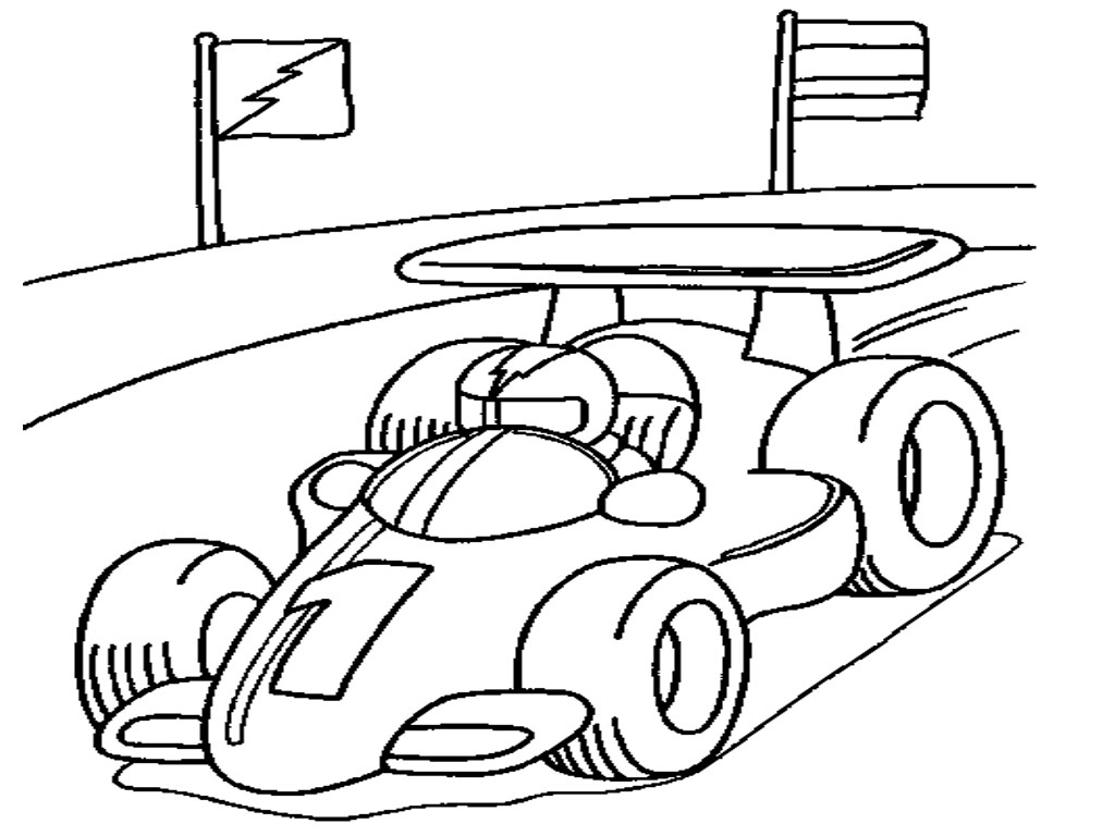 coloring car race cars coloring pages getcoloringpagescom car coloring