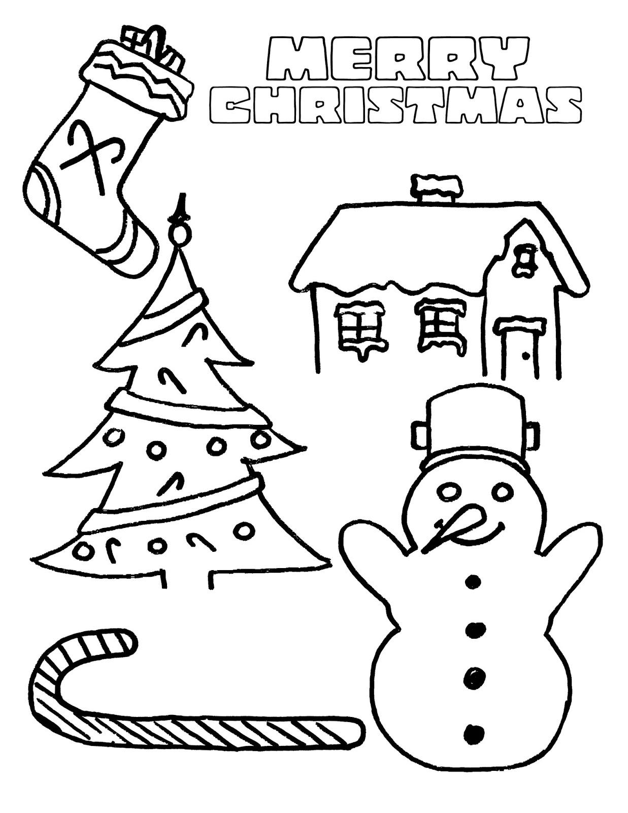 coloring christmas printables easy christmas coloring pages for kids at getcoloringscom christmas coloring printables