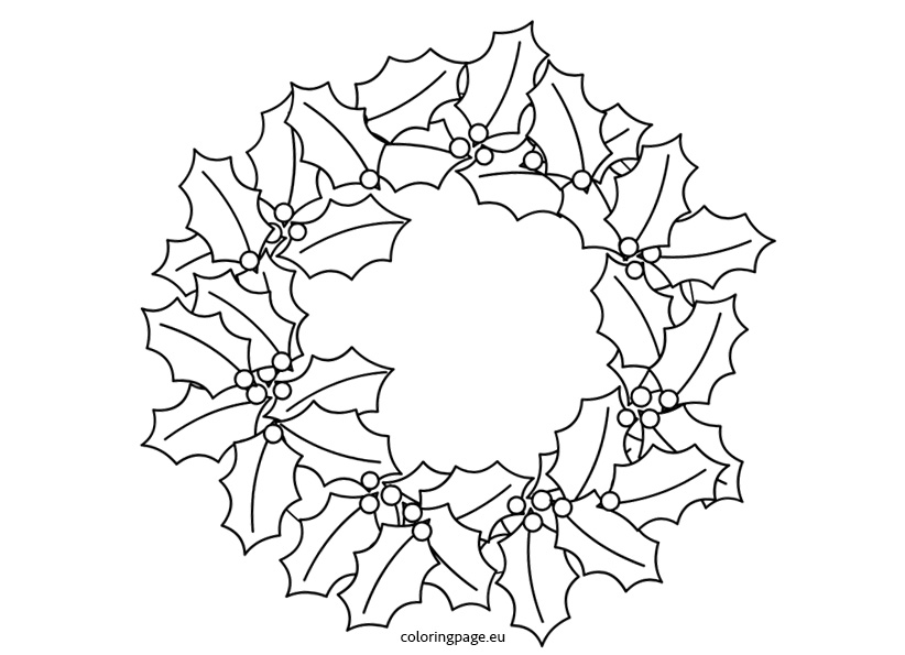 coloring christmas wreath template 34 christmas colouring pages free jpeg png eps format template christmas wreath coloring