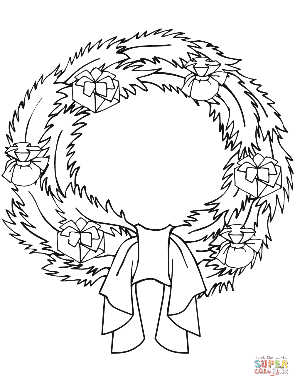 coloring christmas wreath template wreath template coloring page template coloring wreath christmas
