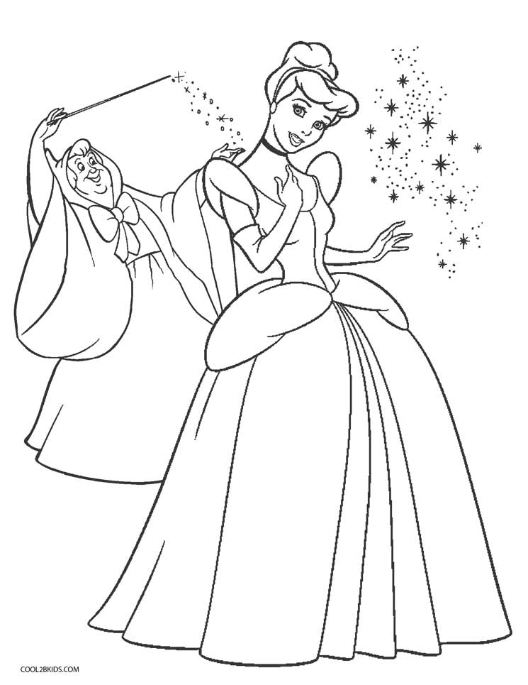 coloring cinderella pictures coloring pages cinderella free printable coloring pages cinderella coloring pictures
