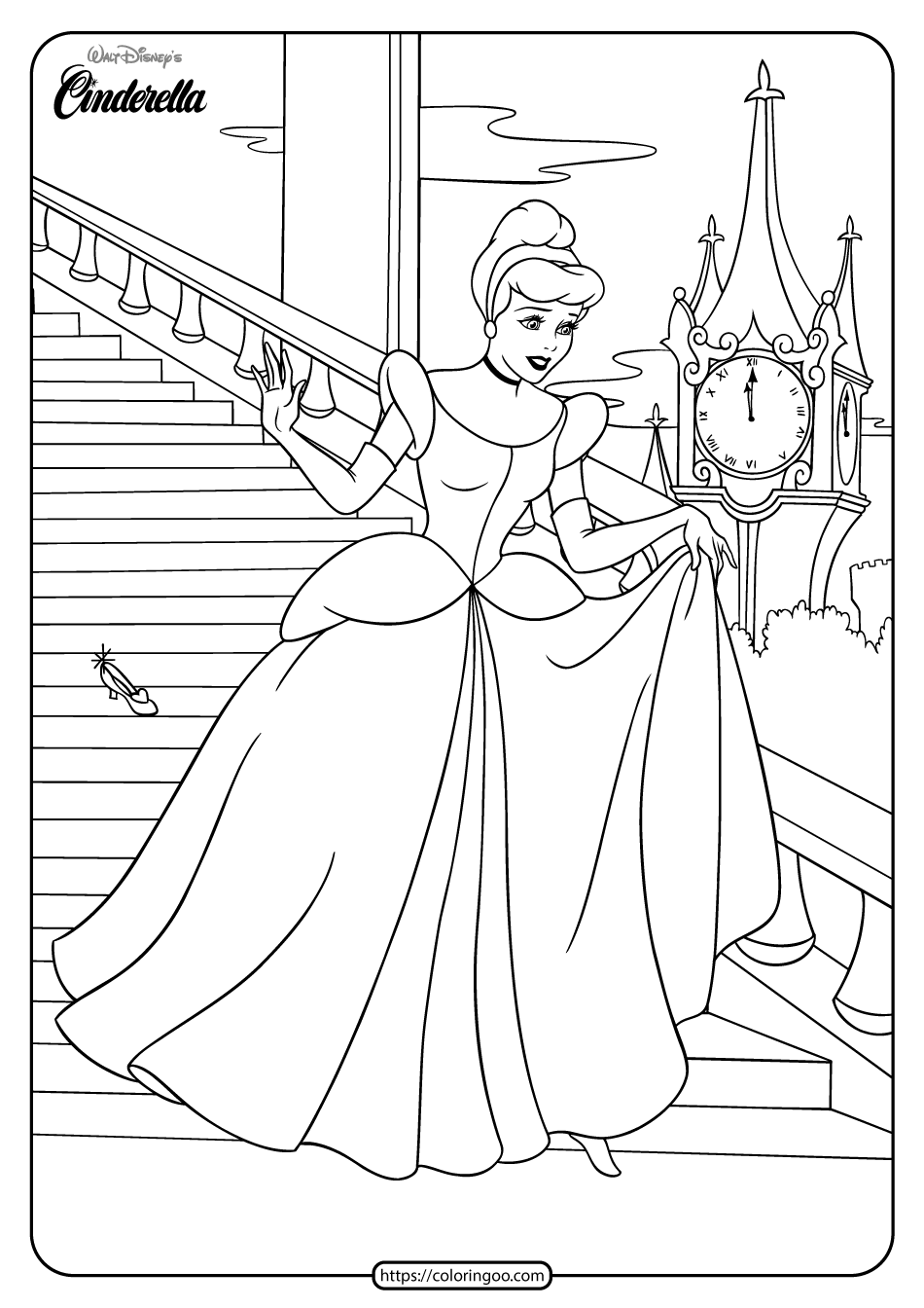 coloring cinderella pictures coloring pages cinderella free printable coloring pages pictures coloring cinderella