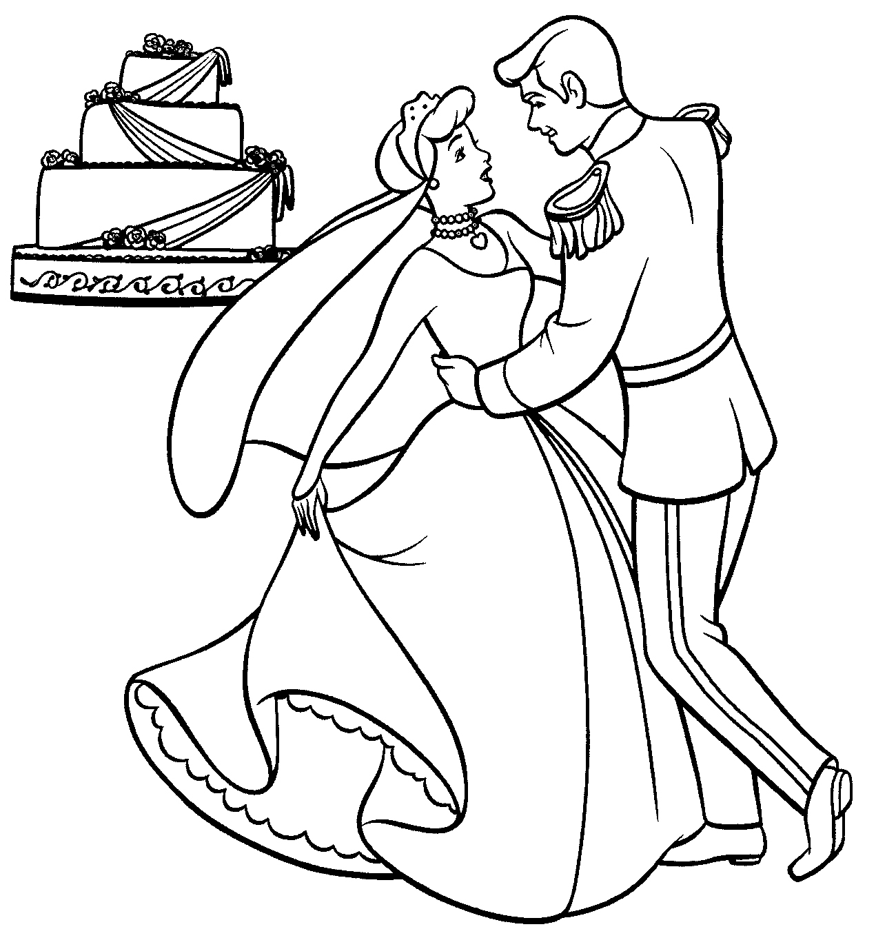 coloring cinderella pictures disney princess cinderella coloring pages minister coloring coloring pictures cinderella