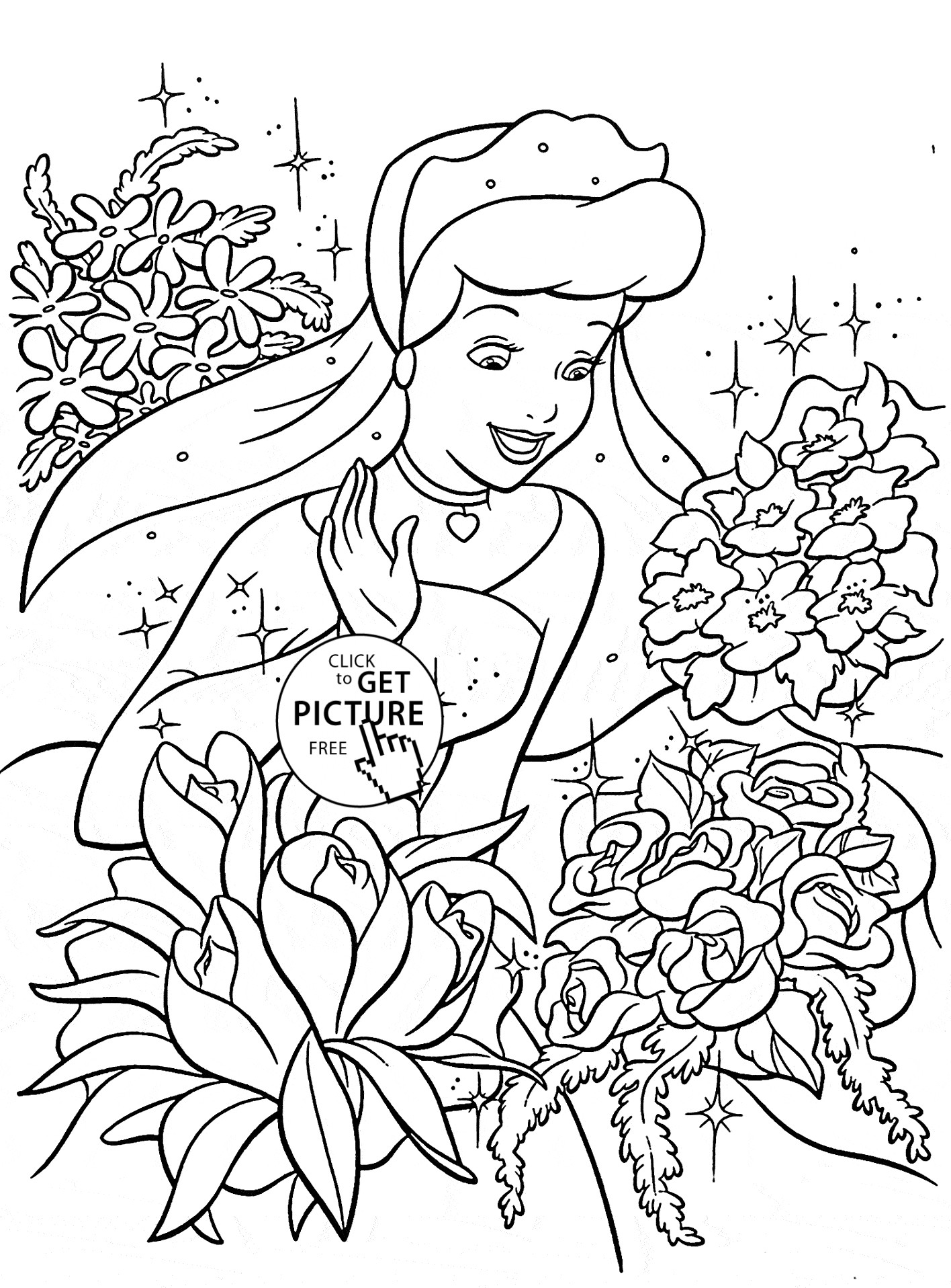 coloring cinderella pictures free easy to print cinderella coloring pages tulamama cinderella coloring pictures