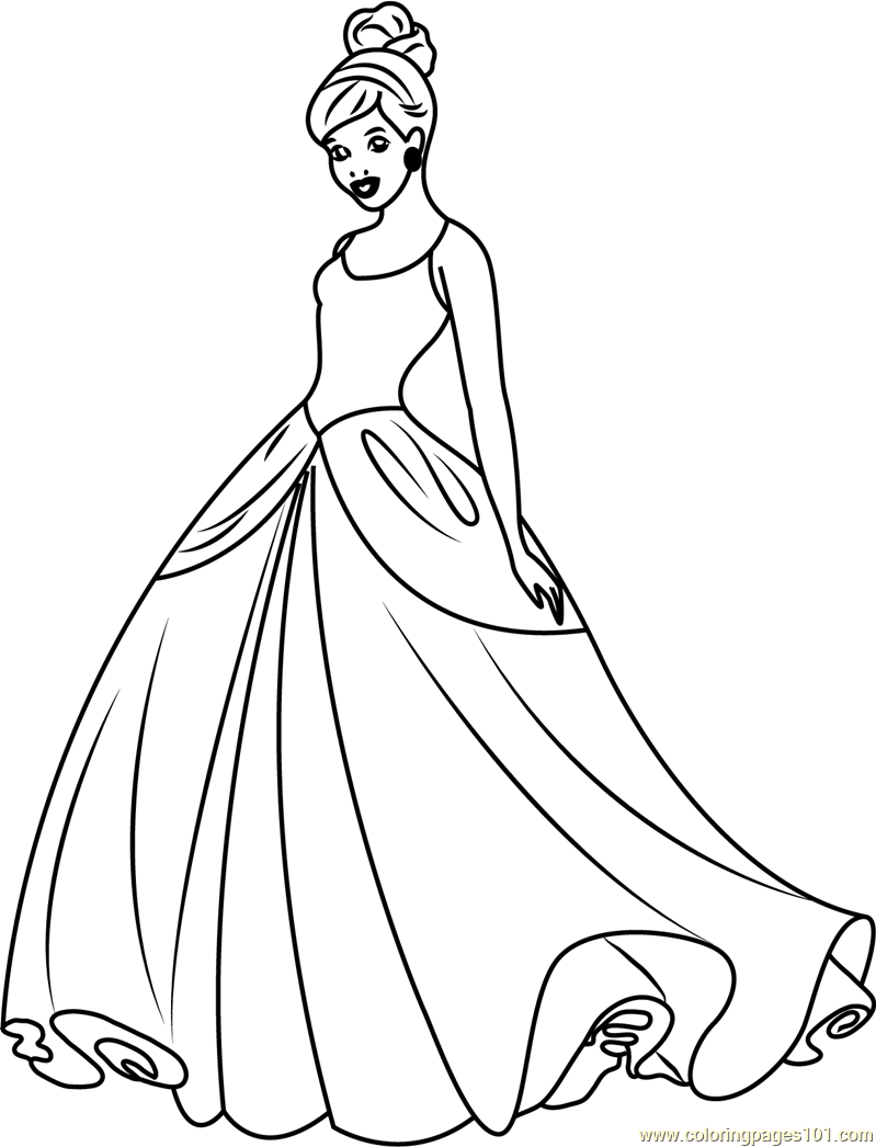 coloring cinderella pictures princess cinderella coloring pages ideas coloring pictures cinderella