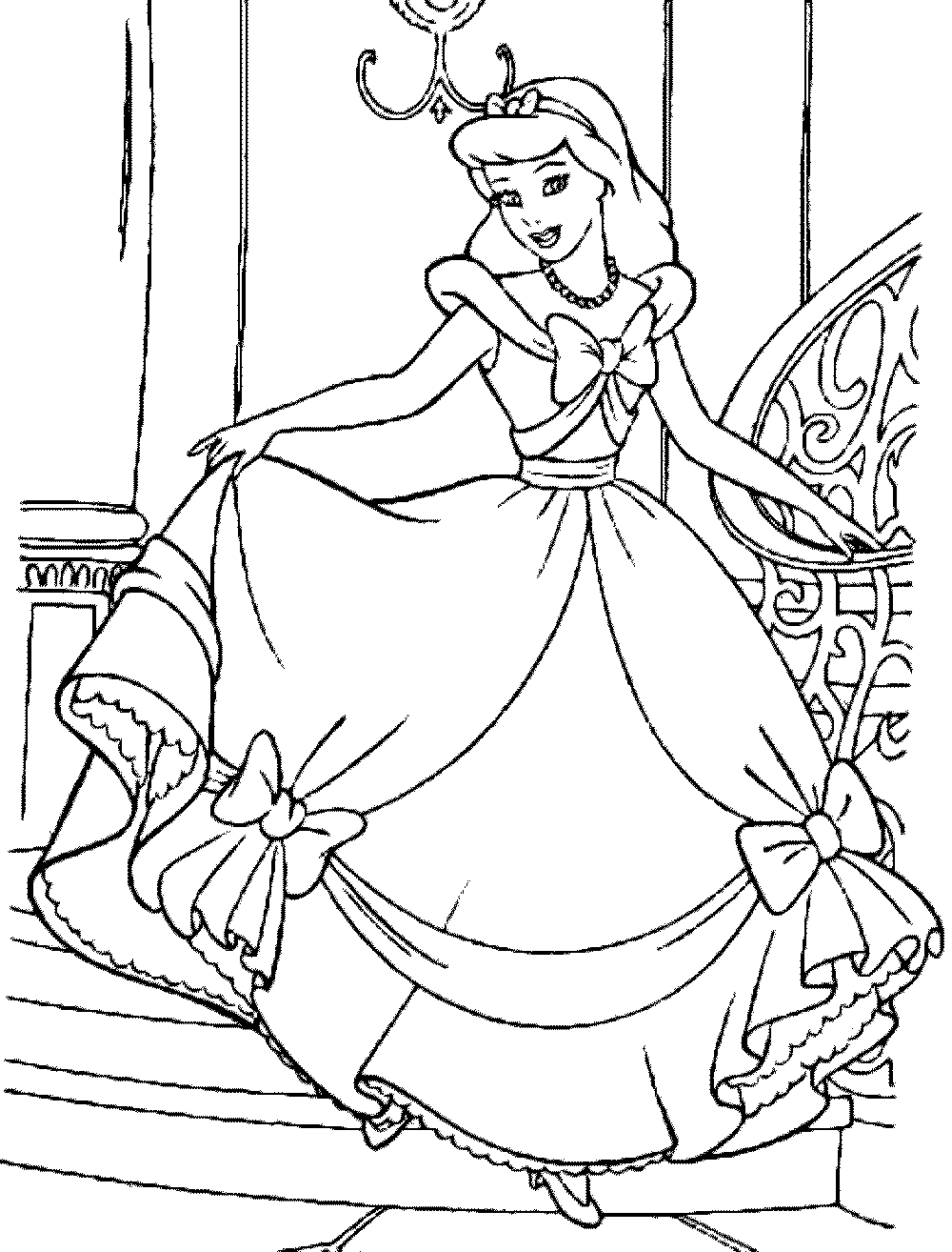coloring cinderella pictures print download impressive cinderella coloring pages coloring pictures cinderella