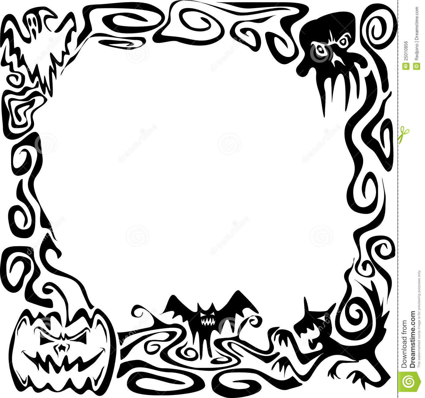 coloring clipart halloween black and white cartoon clipart of an outlined happy halloween zombie with clipart and black halloween coloring white