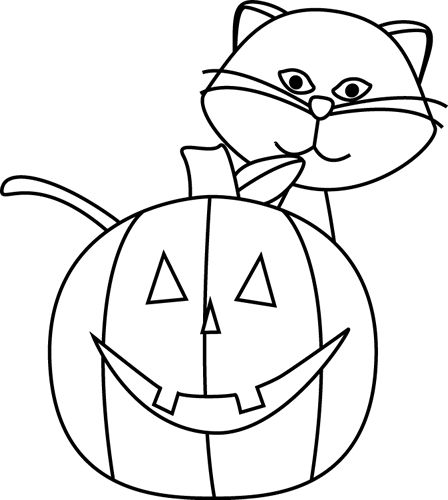 coloring clipart halloween black and white free jack o lantern clipart pictures clipartix coloring and halloween white black clipart