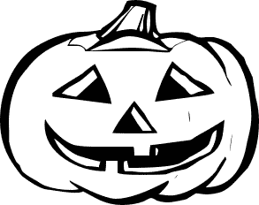 coloring clipart halloween black and white halloween pumpkin clipart clipart panda free clipart and clipart black coloring halloween white