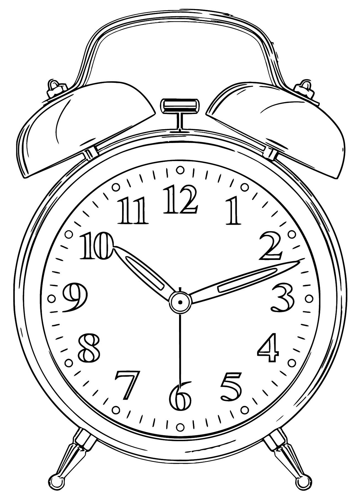 coloring clock clock coloring pages coloring pages to download and print clock coloring