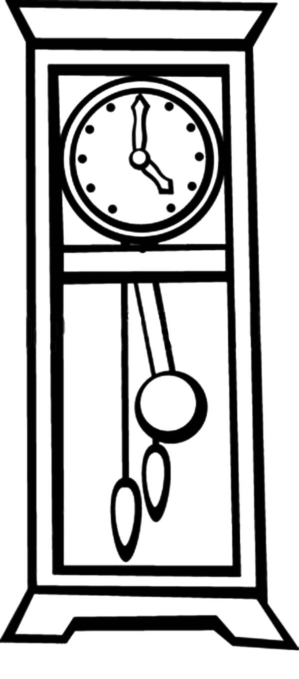 coloring clock free printable clock coloring pages for kids coloring clock