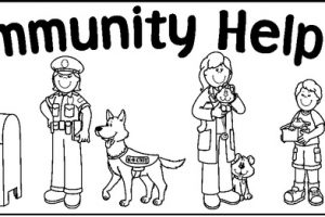 coloring community helpers clipart black and white c clipart download clipart station page 587 black helpers and coloring white clipart community
