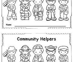 coloring community helpers clipart black and white community helpers clipart black and white 1 clipart station helpers black and coloring community clipart white