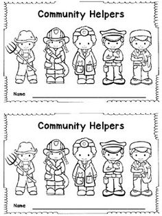 coloring community helpers clipart black and white community helpers clipart black and white 3 clipart station white community coloring helpers black clipart and