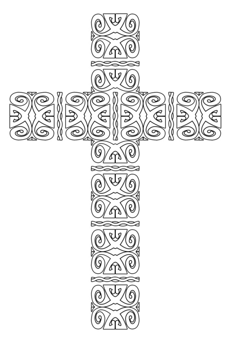 coloring cross pictures free printable cross coloring pages coloring pictures cross