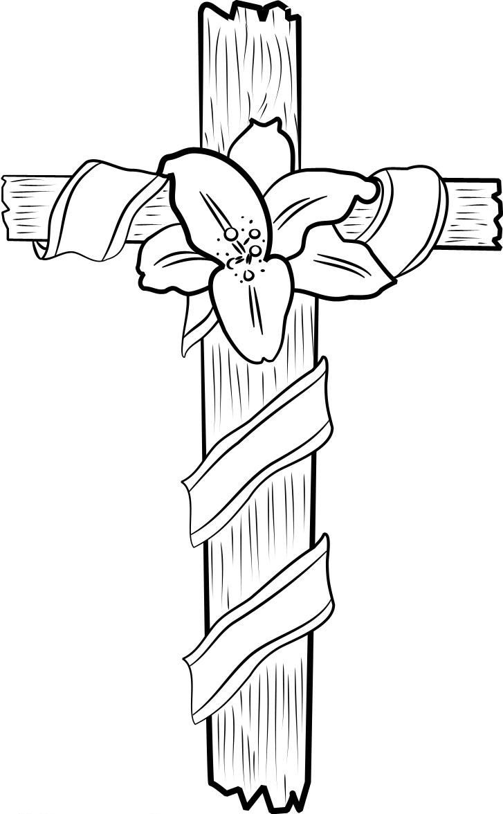 coloring cross pictures free printable cross coloring pages for kids coloring cross pictures