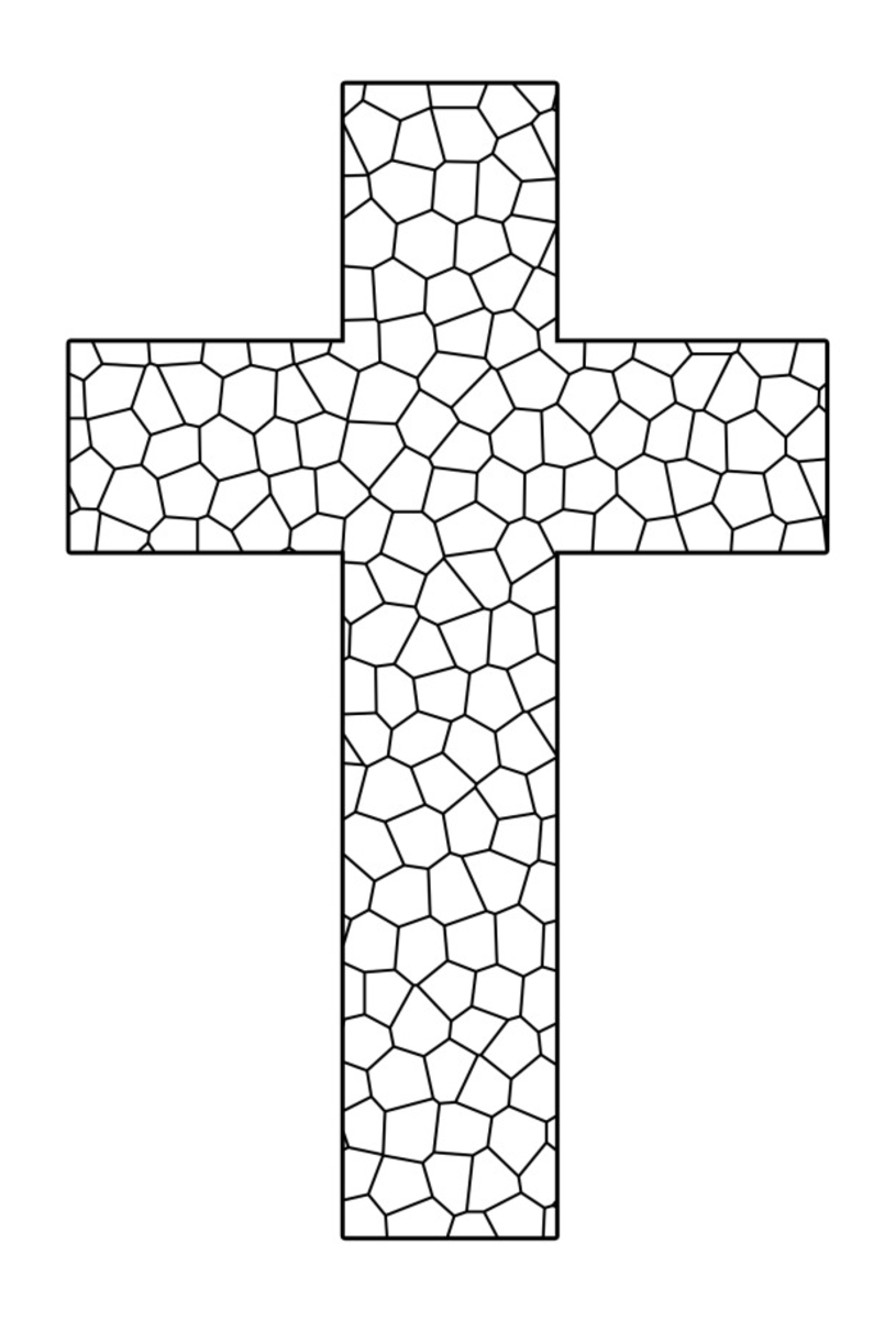 coloring cross pictures free printable cross coloring pages for kids cool2bkids cross pictures coloring
