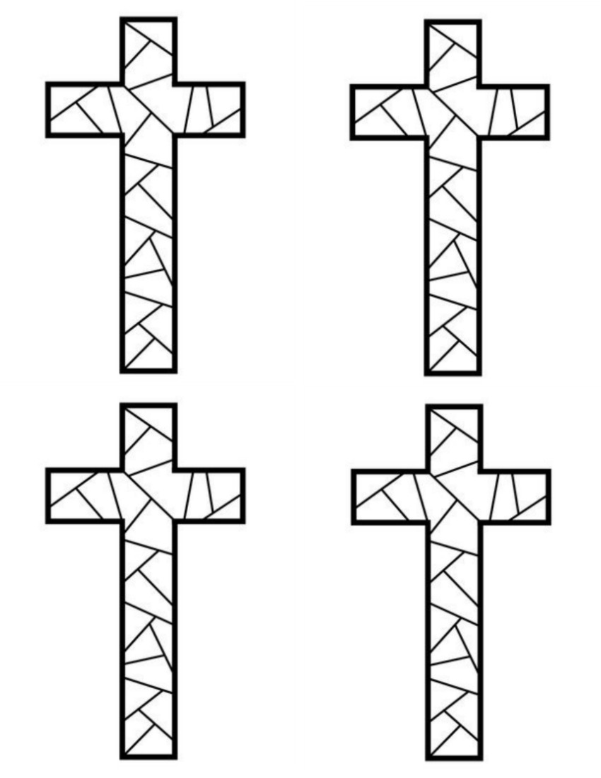 coloring cross pictures free printable cross coloring pages for kids cool2bkids pictures cross coloring
