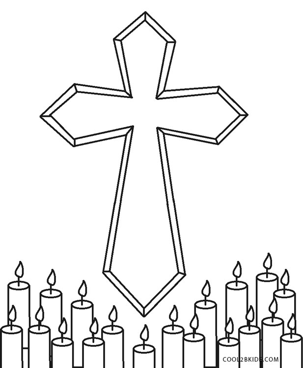 coloring cross pictures free printable cross coloring pages for kids pictures coloring cross