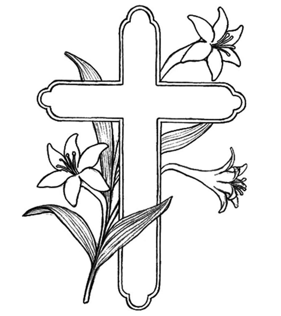 coloring cross pictures free printable cross coloring pages pictures coloring cross
