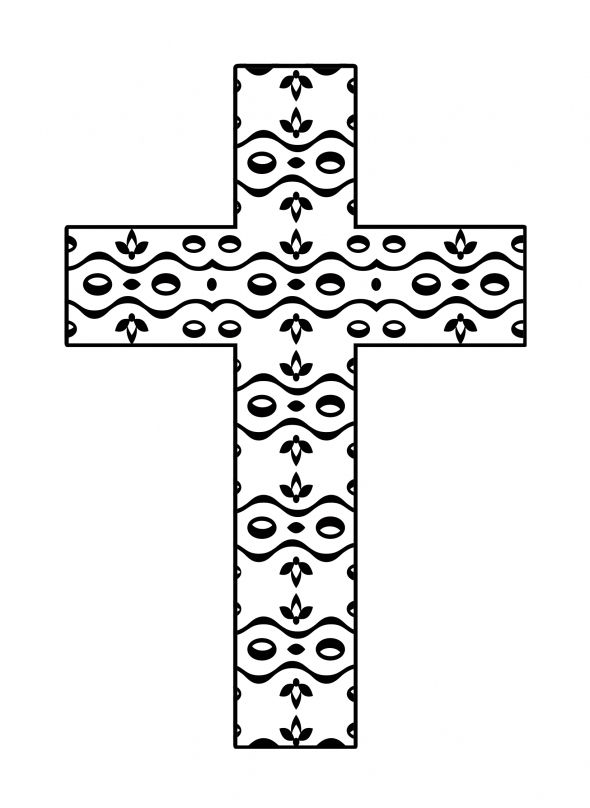 coloring cross pictures free printable crosses clipart best pictures cross coloring