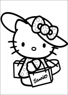 coloring cute hello kitty drawing hello kitty face coloring pages getcoloringpagescom coloring hello drawing cute kitty