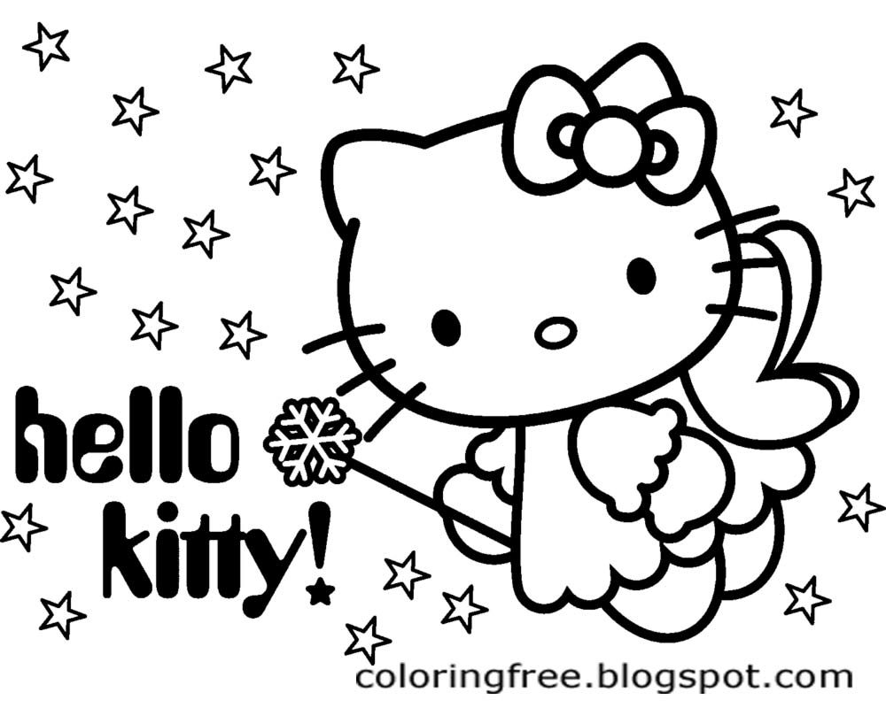 coloring cute hello kitty drawing how to draw hello kitty drawingtutorials101com hello hello kitty drawing coloring cute