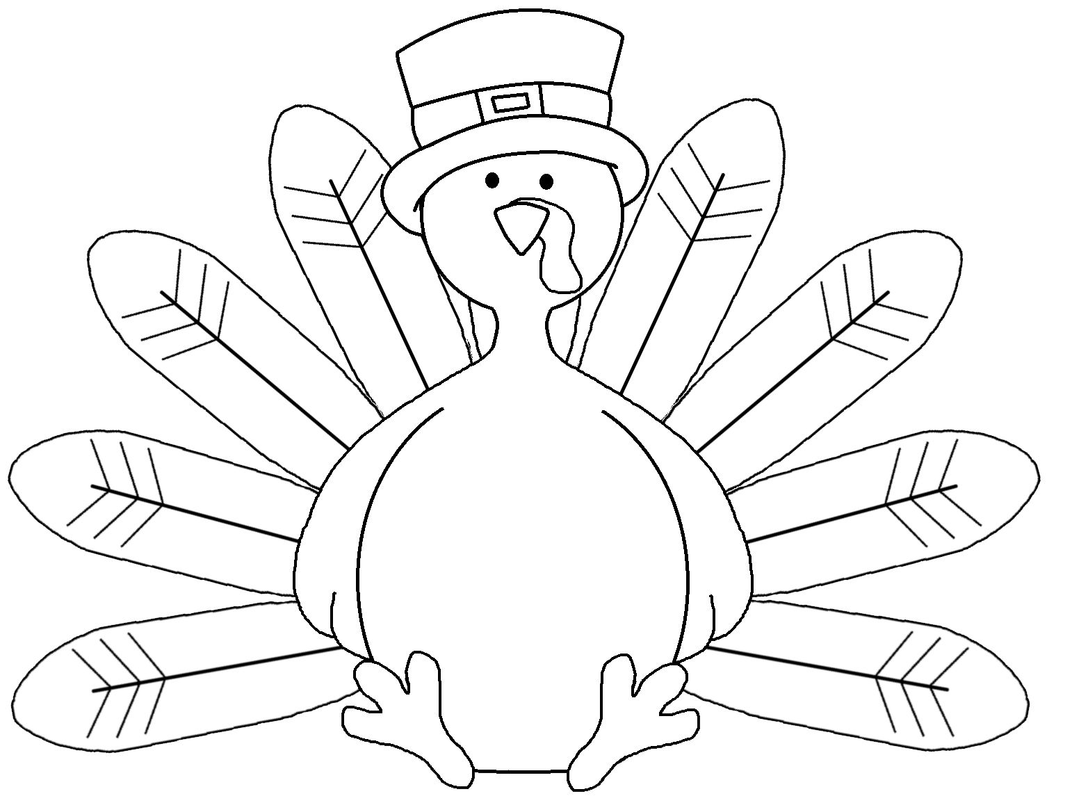 coloring cute turkey clipart best turkey clipart black and white 1504 clipartioncom cute turkey clipart coloring
