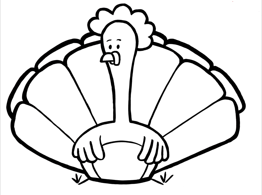 coloring cute turkey clipart turkey outline drawing free download on clipartmag cute clipart turkey coloring