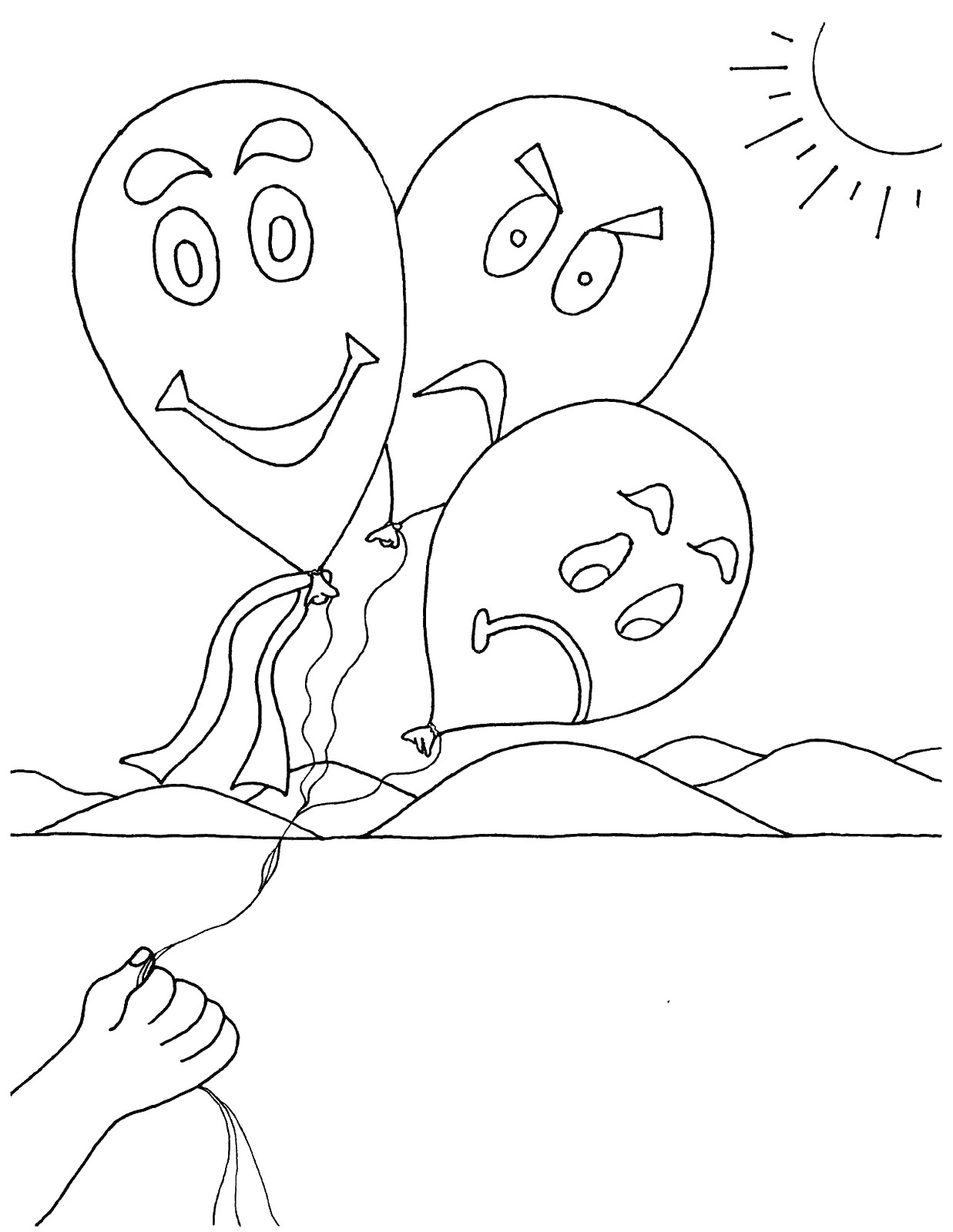 coloring emotions for kids feelings coloring pages coloring emotions for kids