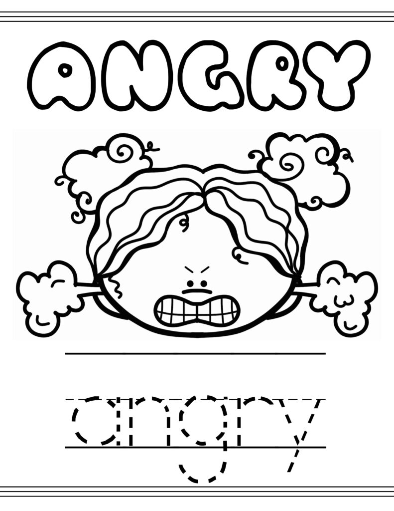 coloring emotions for kids feelings coloring pages kids coloring for emotions