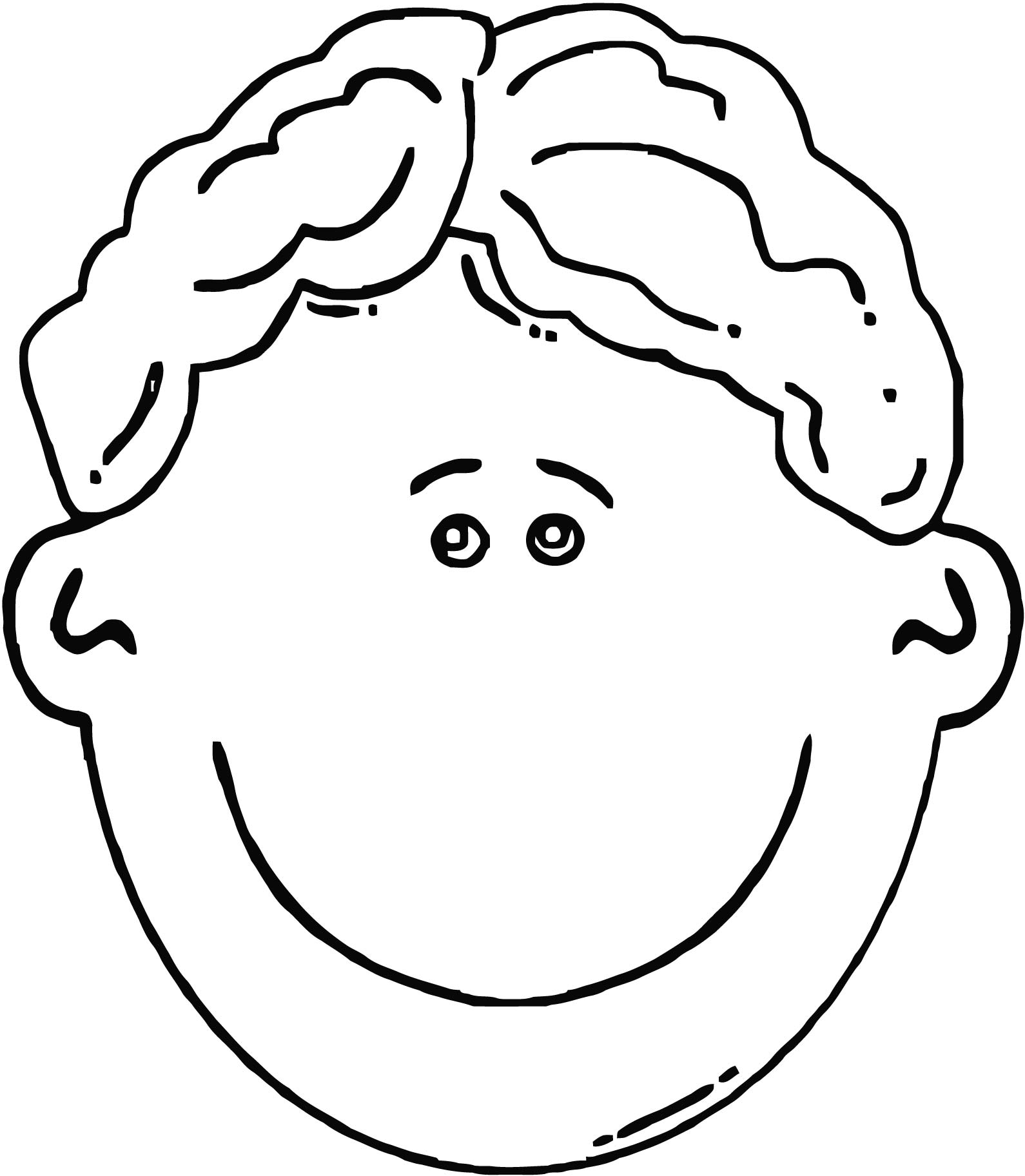 coloring face blank face coloring page getcoloringpagescom face coloring