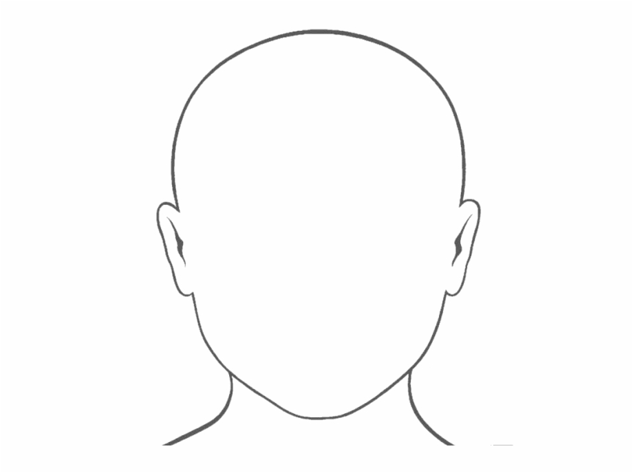 coloring face blank face png photo face colouring pages transparent face coloring