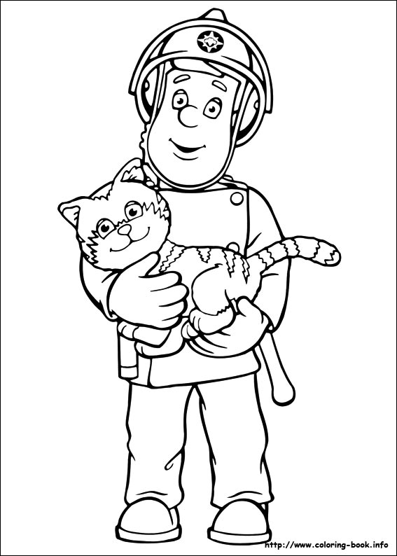 coloring fireman clipart black and white black and white firefighter logo sketch coloring page black and white coloring clipart fireman