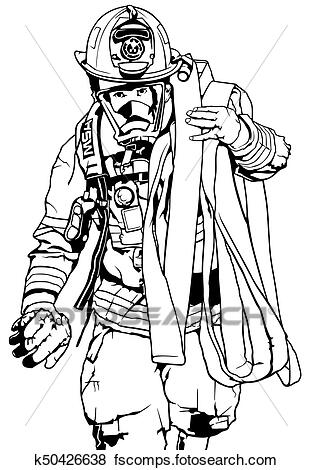 coloring fireman clipart black and white clipart panda free clipart images clipart coloring black white fireman and