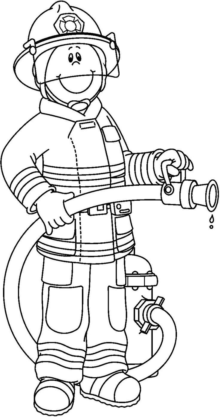 coloring fireman clipart black and white firefighter black and white pwhu images on firefighter and white black fireman clipart coloring